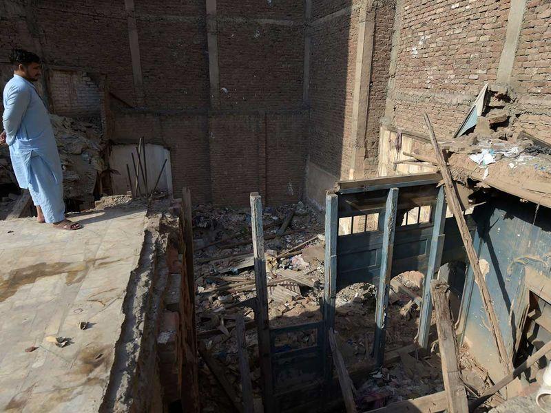 Dilip Kumar Peshawar building Pakistan