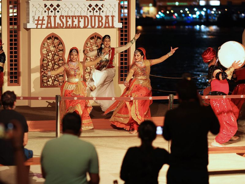 Diwali celebration at Al Seef