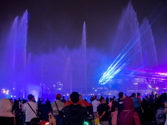 Diwali celebrations in Dubai