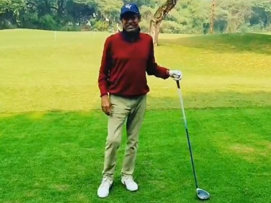 Kapil Dev glad to be back on golf course