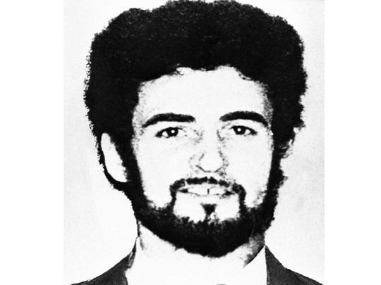 Peter William Sutcliffe, the alleged 'Yorkshire Ripper'
