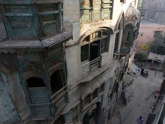 Raj Kapoor Peshawar building Pakistan