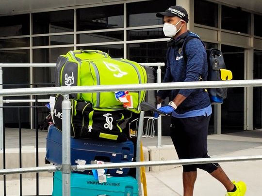 Team India arrive in Australia from Dubai after IPL