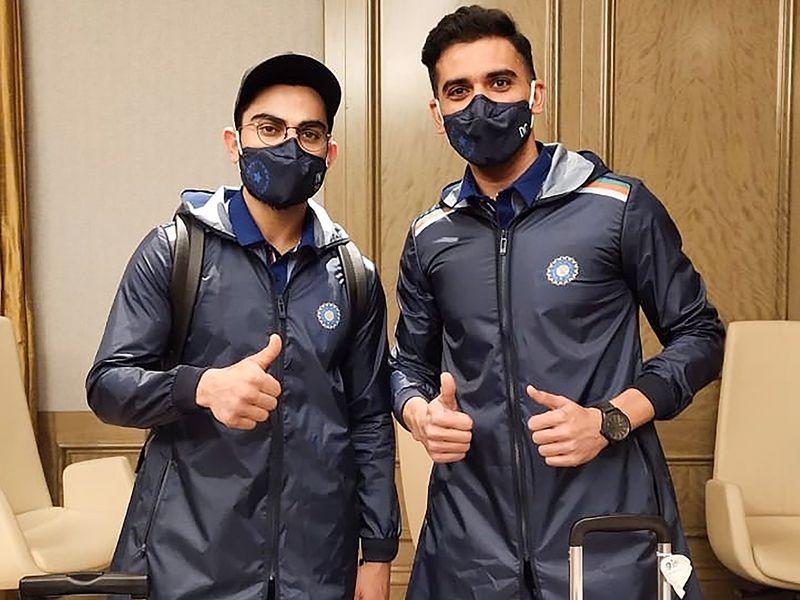 Team India arrive in Australia from Dubai after IPL