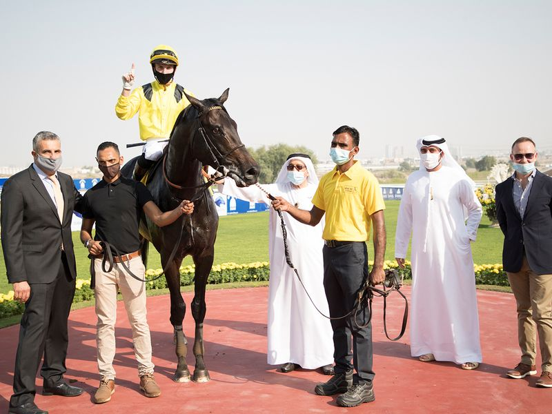 Shamikh connections at Jebel Ali after the victory
