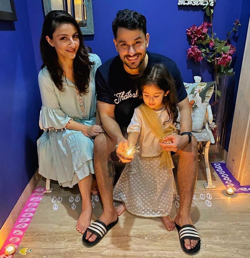 Soha Ali Khan Diwali