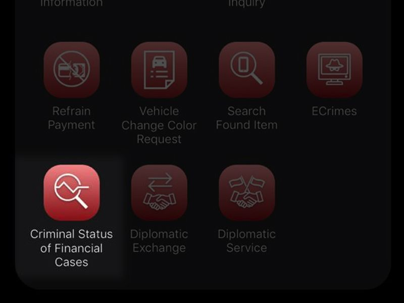 How to check criminal status in financial cases in Dubai.