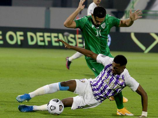 Khor Fakkan overcame Al Ain in the Arabian Gulf Cup