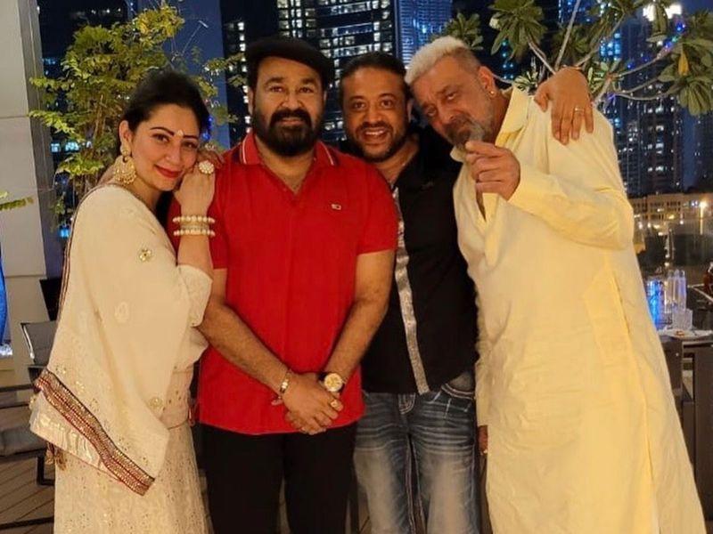 Sanjay Dutt Diwali in Dubai