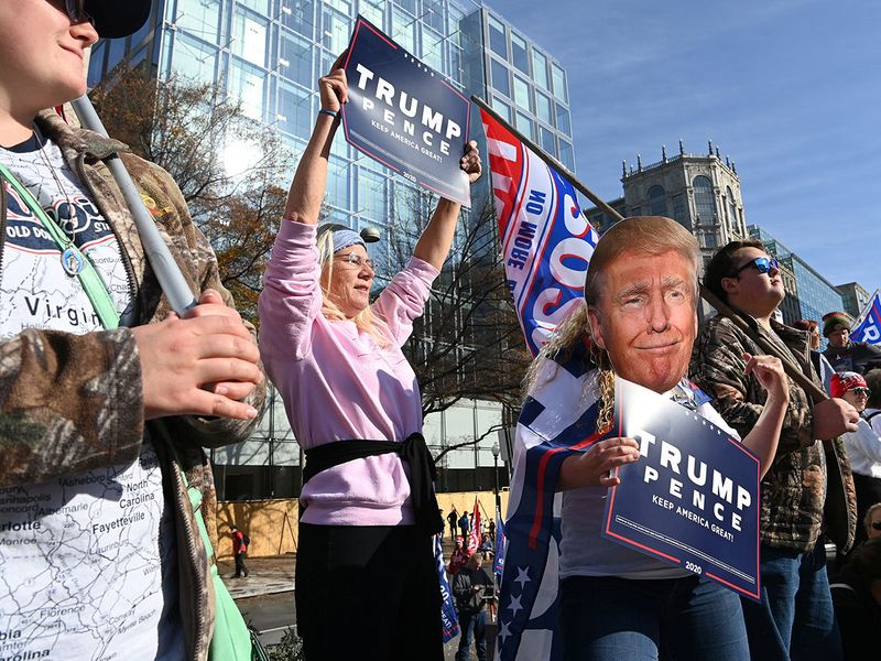 Trump rally gallery