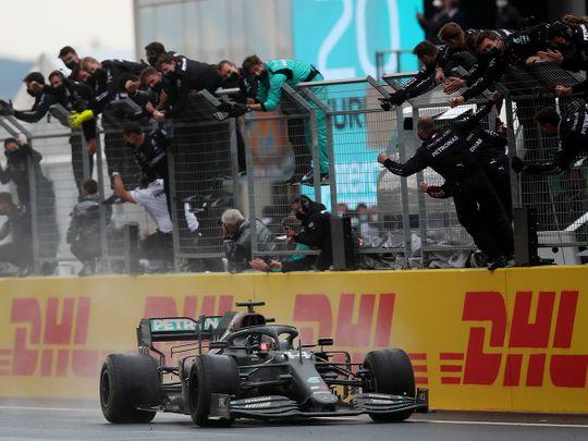 Turkish Grand Prix Lewis Hamilton 2020