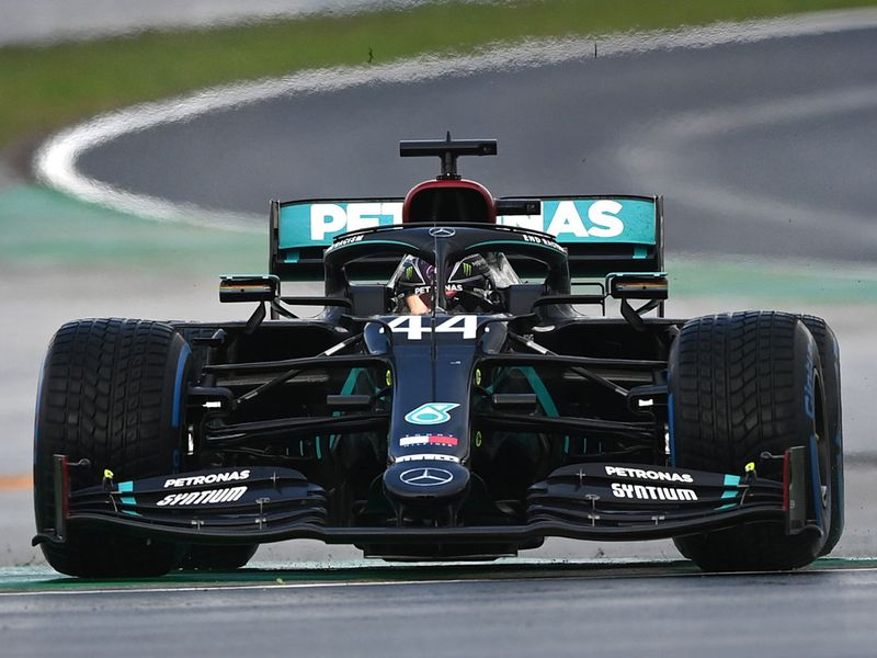 Turkish Grand Prix Lewis Hamilton 2020