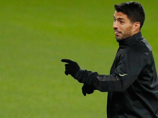 Atletico Madrid's Luis Suarez