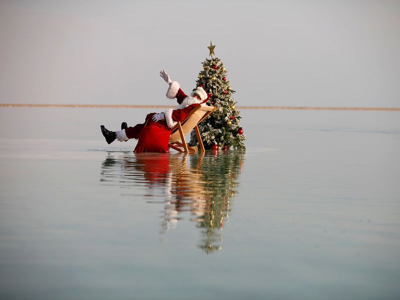 Santa Claus Dead Sea gallery