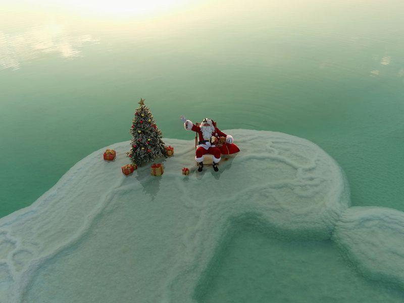 Santa Claus Dead Sea gallery
