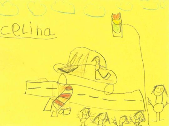 Six-year-olds draw sketches to help German cops trace rash driver