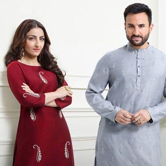 Soha Ali Khan and Saif Ali Khan
