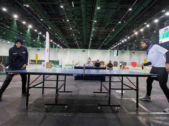 Table tennis - Sheikha Hind Sports