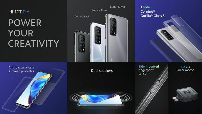 Xiaomi Mi 10T Design