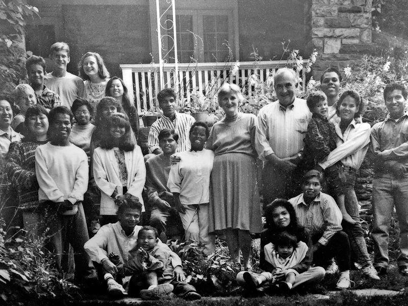 Simpson family photo from 1991, with Sash Simpson Toronto chef