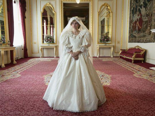 Emma Corrin as Princess Diana-1605687434993