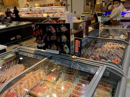 Frozen food China coronavirus