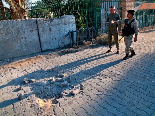 Iraq rocket attack
