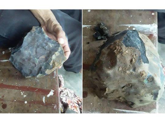 Meteorite crashes through Indonesian man's home