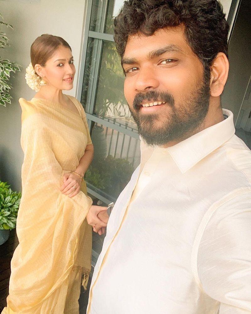 Nayanthara and Vignesh Shivan