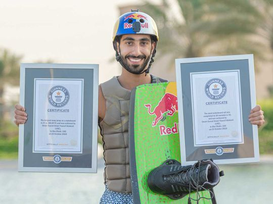 Omeir Saeed World Record
