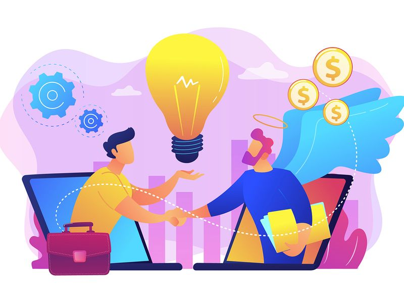 Stock Entrepreneur Business