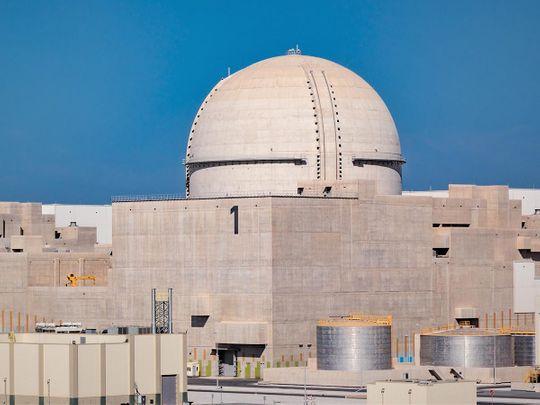 Unit 1 of Barakah Nuclear Energy Plant-1605697297677