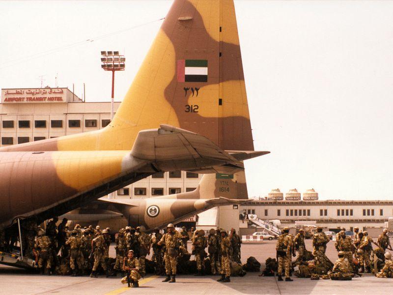 1991 UAE TROOPS KUWAIT-1605797671306
