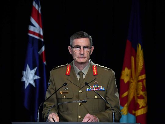 Chief of the Australian Defence Force (ADF) General Angus Campbell