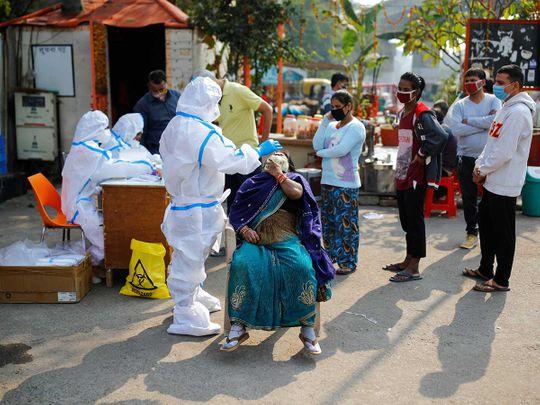 Delhi PPE swab covid