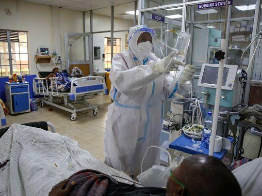 Kenya medical worker coronavirus