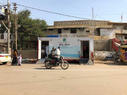 Saaf Bath toilets Karachi Pakistan