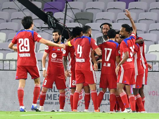 Sharjah are perfect with five wins from five in the AGL this season