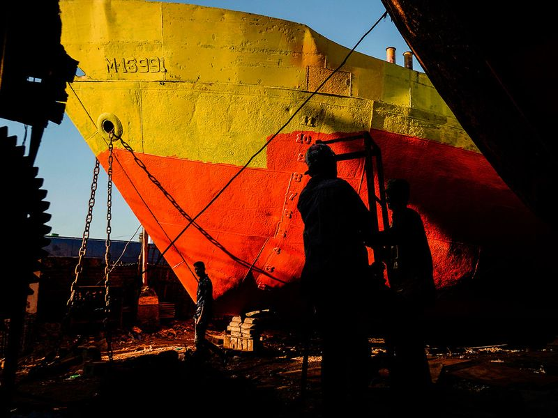Bangladesh ship industry gallery