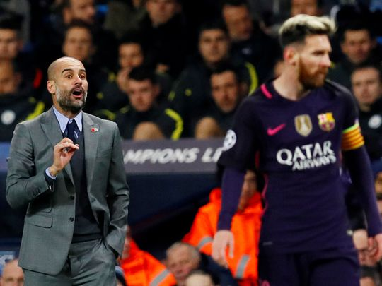 Pep Guardiola has said he hopes Lionel Messi stays at Barcelona