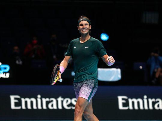 Rafael Nadal defeated Stefanos Tsitsipas to reach the ATP semi-finals