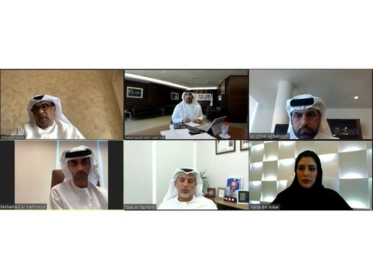 The Technical Committee of the UAE National Olympic Committee (UAE NOC) virtual meeting