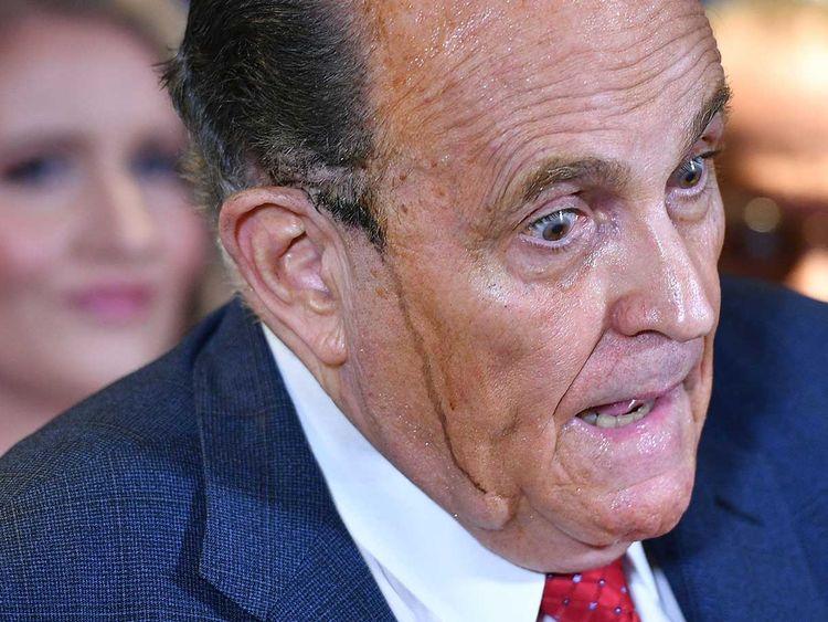 Trump's personal lawyer Rudy Giuliani