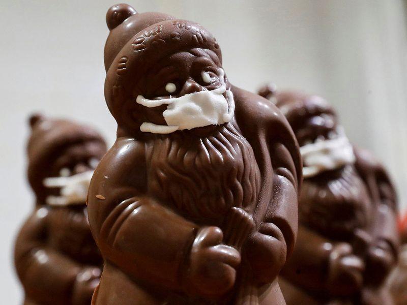 Chocolate santa gallery