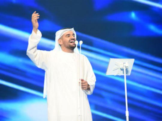 Famous Emirati singer Hussain Al Jassmi