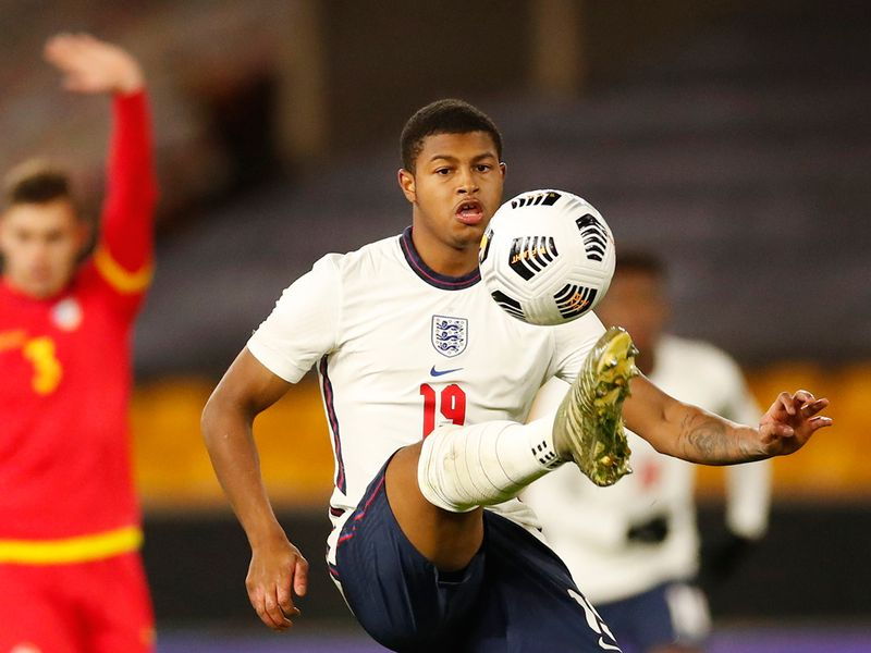 Liverpool and England's Rhian brewster