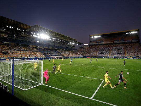 Villarreal drew with realMadrid in La Liga