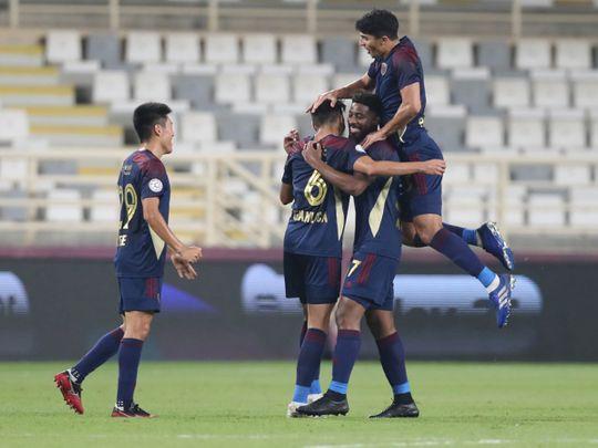 Al Wahda defeated Ajman 3-0 in the AGL