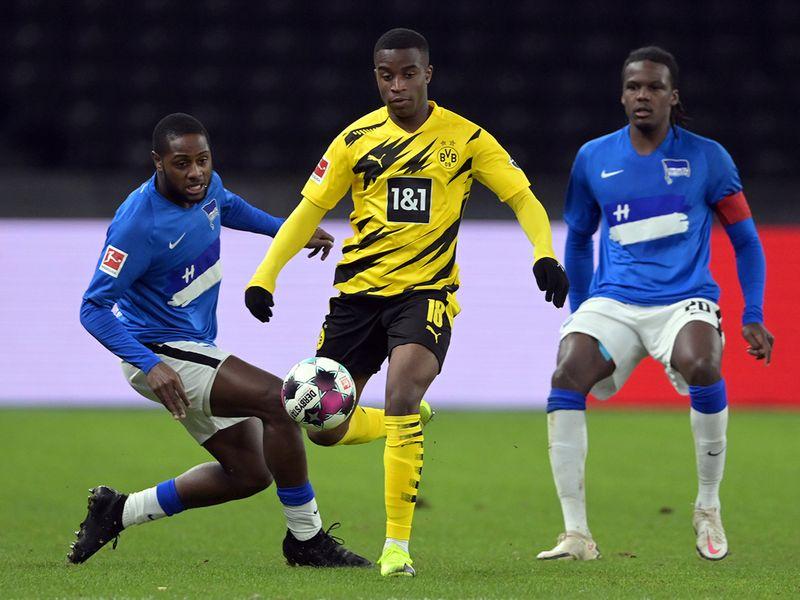 Dortmund's Youssoufa Moukoko