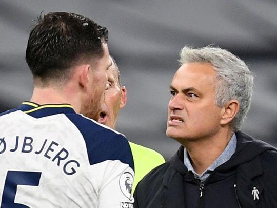 Jose Mourinho got the better of Pep Guardiola's Manchester City